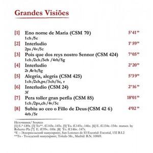 Cantigas de Santa Maria: Grandes Visiões (2011)