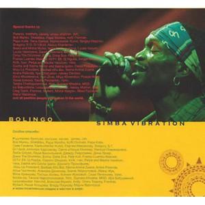 Simba Vibration (ex Markscheider Kunst) - Bolingo (2009