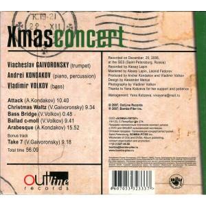 Vladimir Volkov, Vyacheslav Gaivoronsky, Andrey Kondakov-Christmas concert (2007)